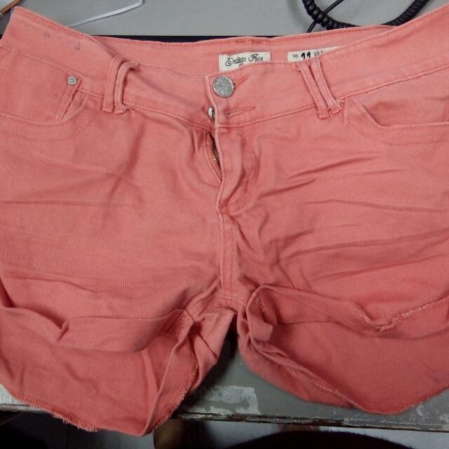 preloved forever 21 shorts size 30-31