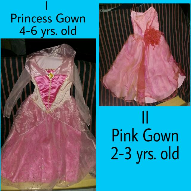 Pre-loved Gowns For Kiddos