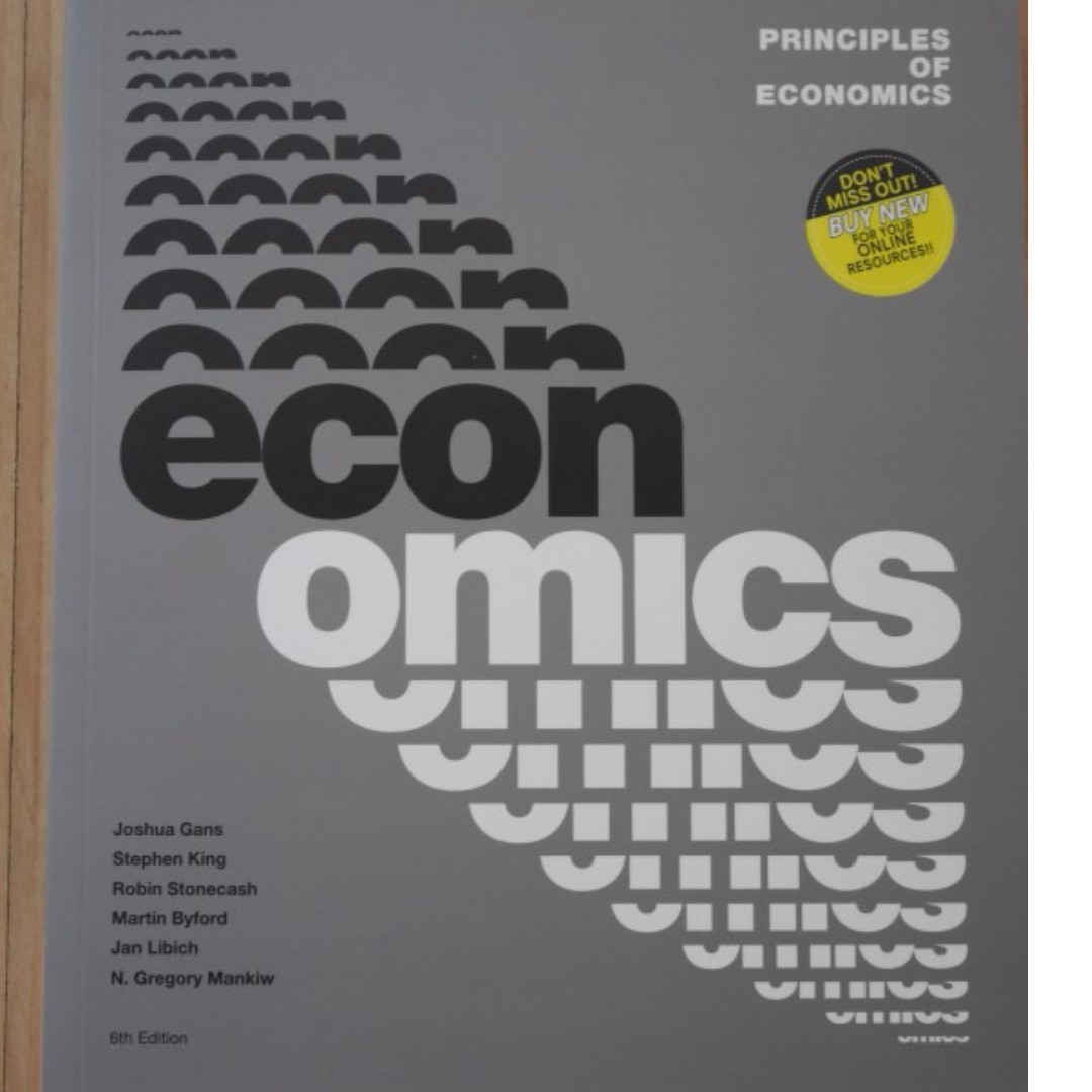 Principles of Economics 6th Edition -  Textbook