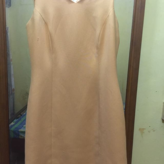 Profile Gold Short Dress Pesta