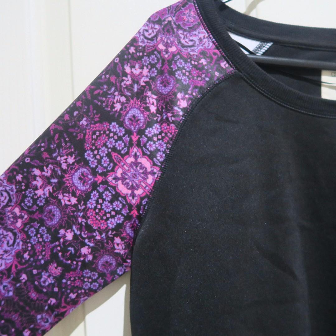 Purple & Black Sweater