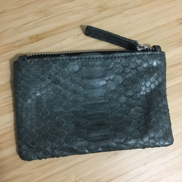Real Italian Leather Coin Purse