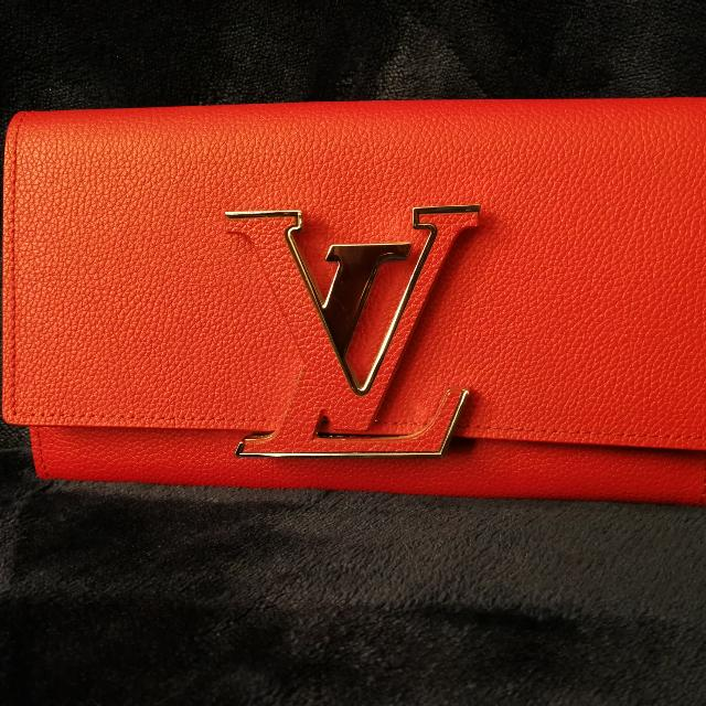 Red/orange Lv Wallet