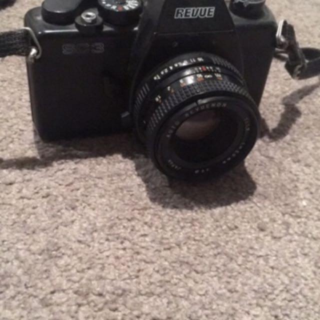 Revue SLR Film Camera