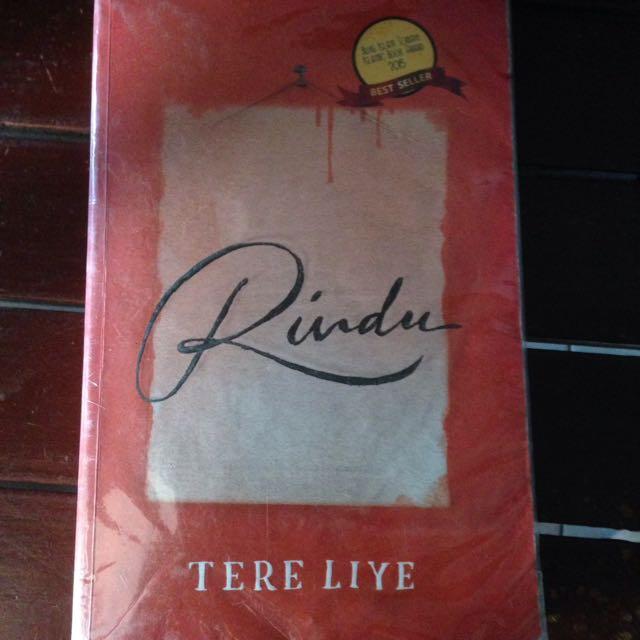 Rindu - Tere Liye Novel