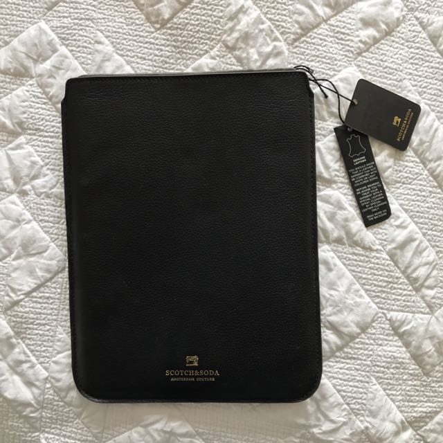 Scotch & Soda iPad Leather Case