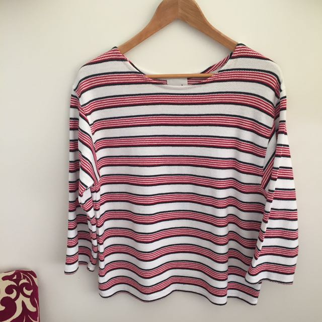 Seed Stripe Top Xs