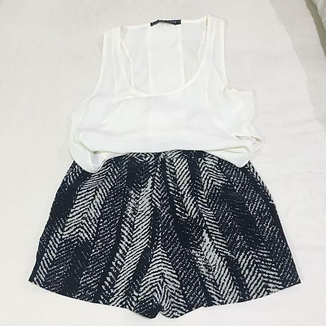 Set Item - Top & Shorts
