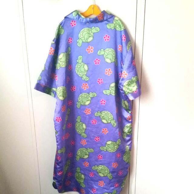 Silky Turtle Nightgown