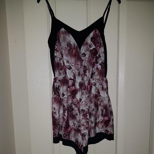 Size 6 Ally Play Suit