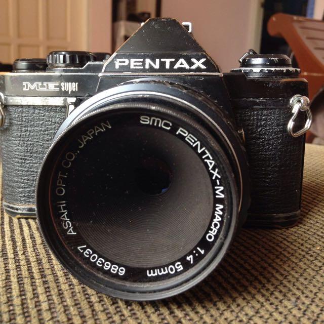 Film Camera: Pentax ME Super