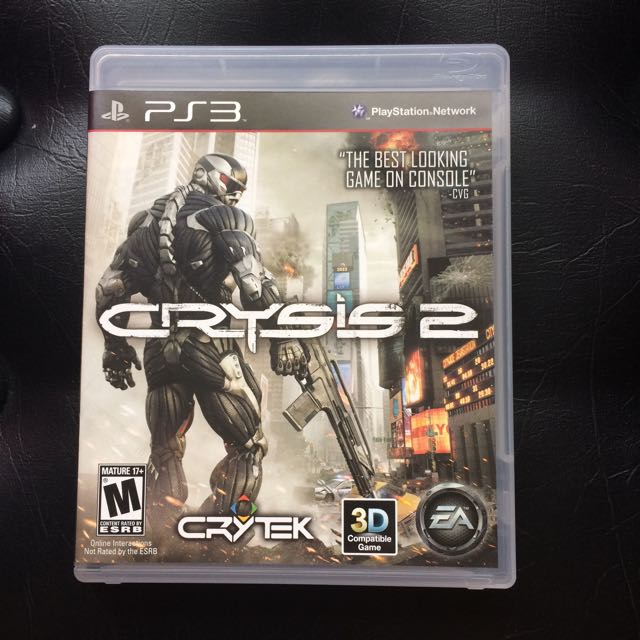 Sony PS3 Game Crysis 2