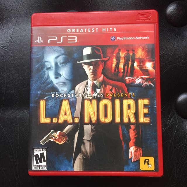 Sony PS3 Game L.A Noire (No Manual)