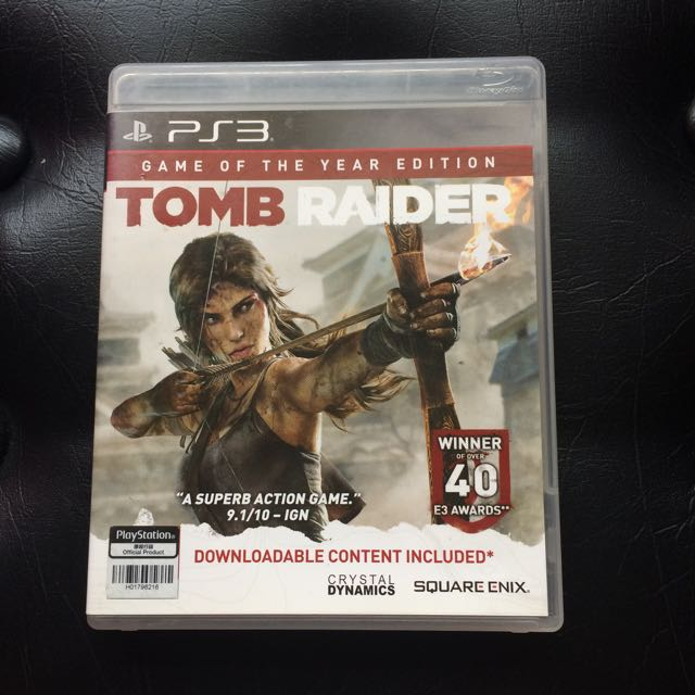 Sony PS3 Game Tomb Raider Game of the Year Ed