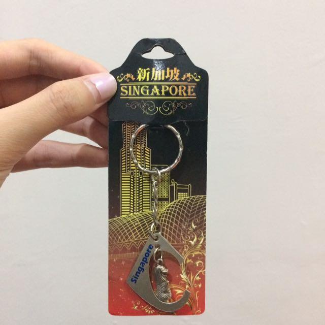 SOUVENIR SINGAPORE ORI Keychain