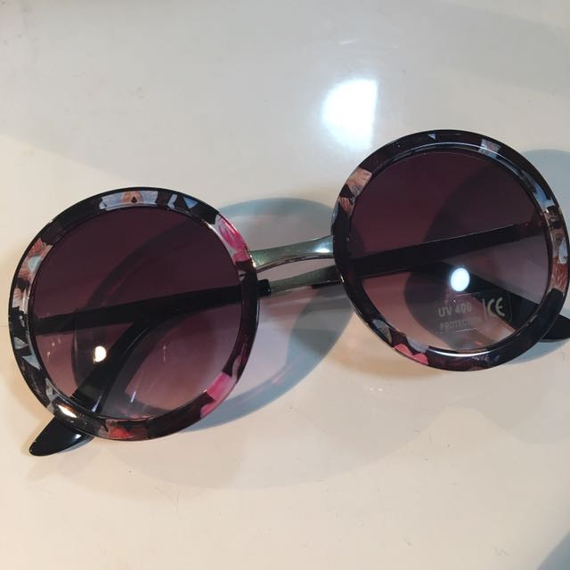 sunnies with floral print