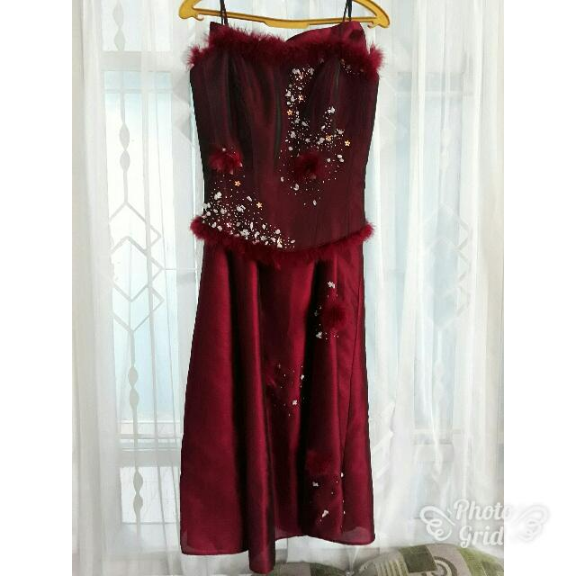 Sweet Seventeen Red Dress