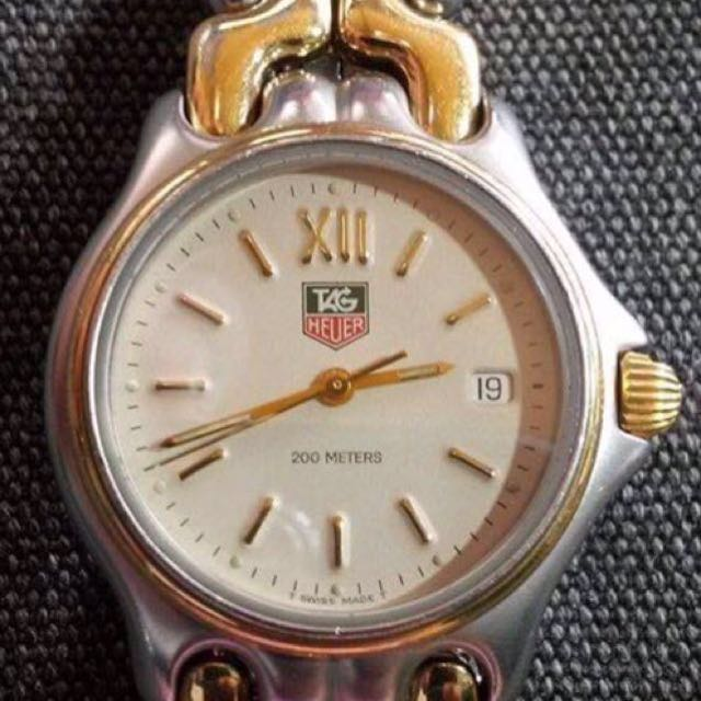 Tag Heuer SEL Y Series Junior Size Two Tone Watch