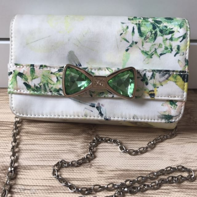 TED BAKER Clutch with Longstrap FAST SALE
