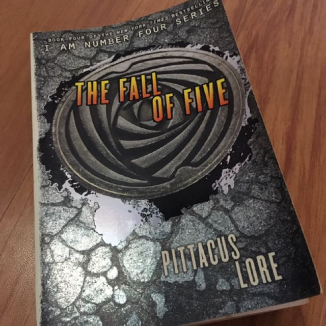 The Fall Of Five ( I Am Number Four Series)