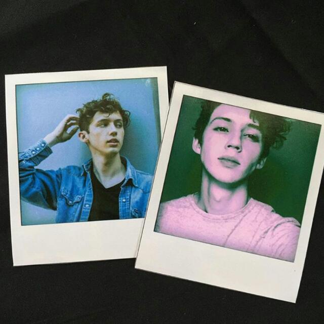Troye Sivan Polaroids