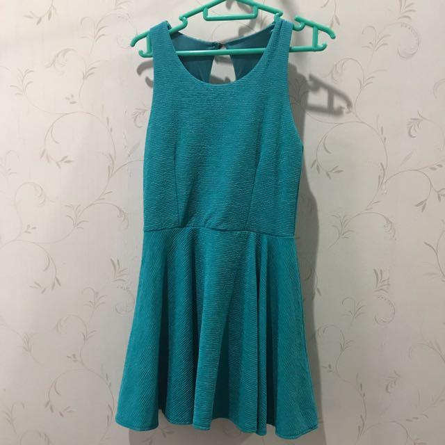 Turquoise Dress XS S 6 8