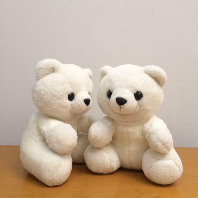 Twin White Bears
