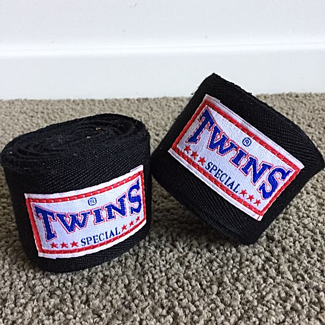 TWINS BOXING/MUAY THAI HAND WRAPS
