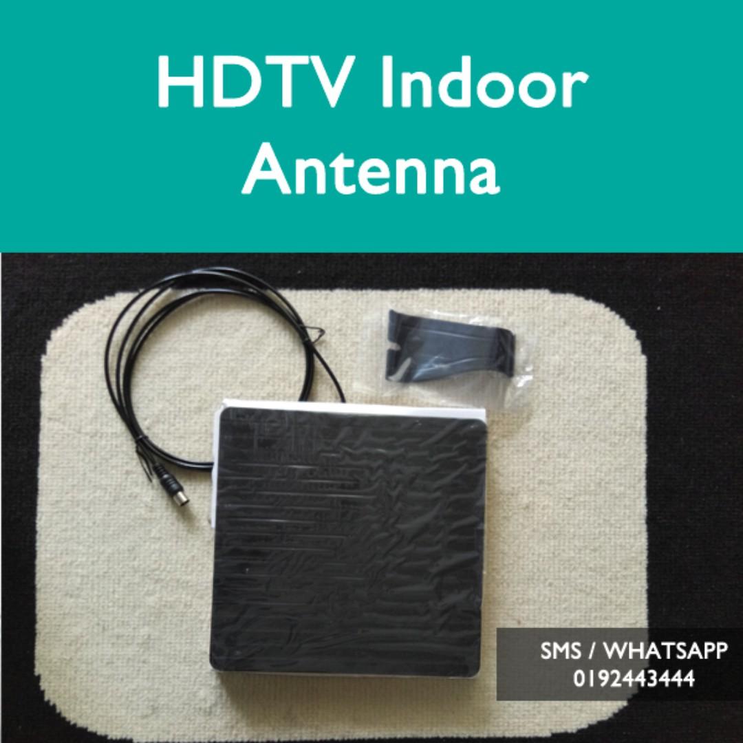 UHF Indoor Antenna Untuk Siaran MyTV Freeview Malaysia