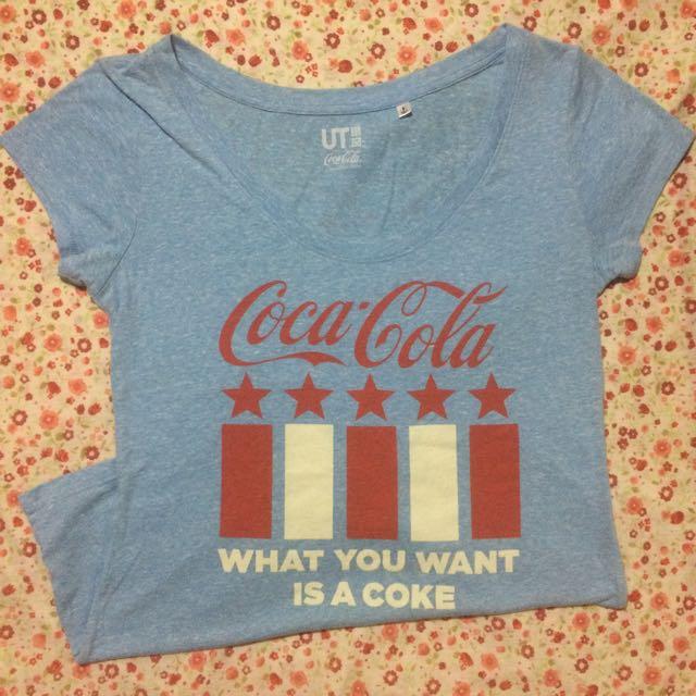 Uniqlo Coca-cola Shirt