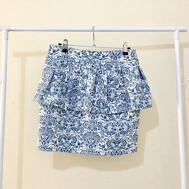 Valleygirl Peplum Skirt