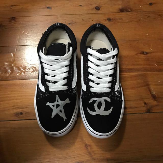 Vans&chanel shoe