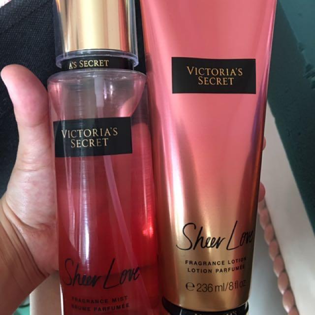 Victoria secrets sheer Love