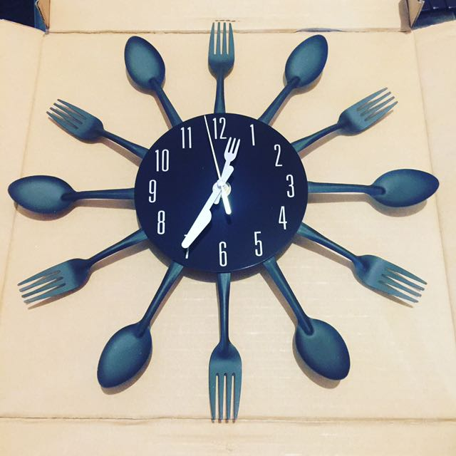 Wall Clock Kitchen Home Decor