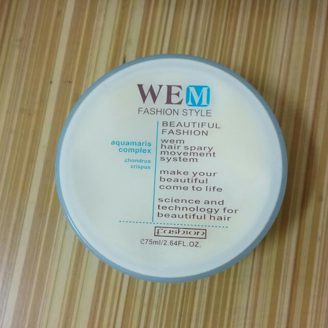 WEM塑型髮蠟