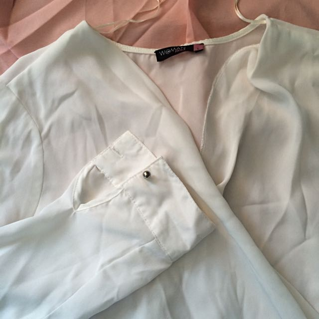 White Corpo Blouse