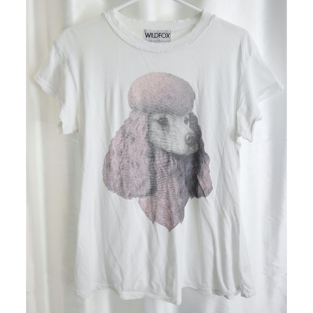 Wildfox Poodle T-Shirt (64% Off!)