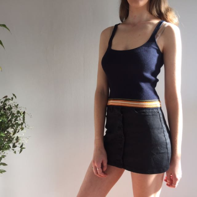 Zara Knit Top 🌈