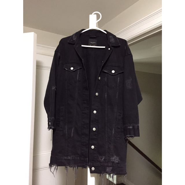 ZARA TRAFALUC Denim Jacket