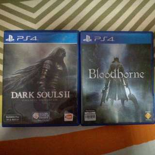 dark souls 2 & bloodborne