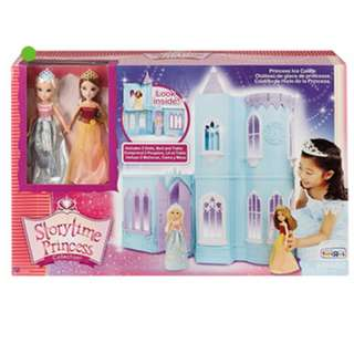 Storytime Princess Collection™ - Ice Castle Dollhouse with 2 Dolls