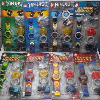 Jam Tangan Lego Superhero B-01