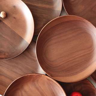 All Natural Wooden Serving Plates