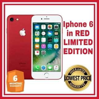 [RED] iPhone 6 64GB (Refurbished - Limited Edition) New Original Set #FreePostage