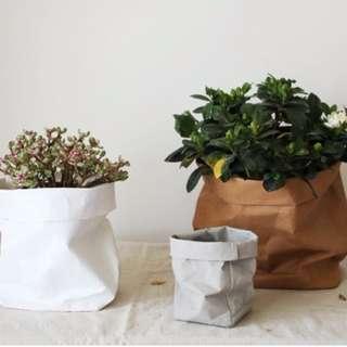 Waterproof Paper Bag Planters