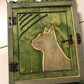 🚚 手作木質鑰匙箱