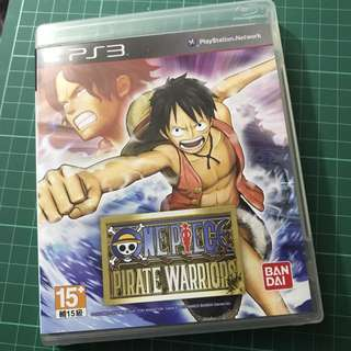 PS3 One Piece Pirate Warriors 海賊無雙 英文版