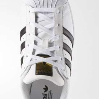 SuperStar Addidas Size 5.5 White