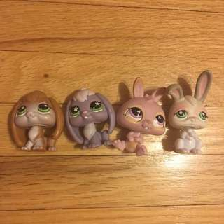 Littlest Pet Shop - Bunnies