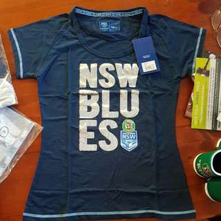 NSW Blues Supporter Ladies T-shirt